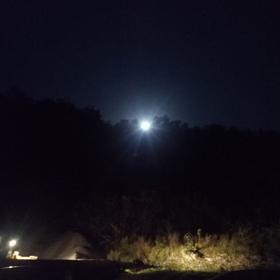 观音山下赏月明