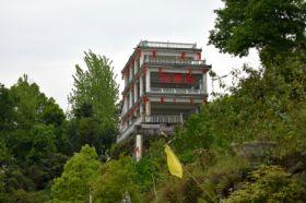 三峡大坝全景观景台