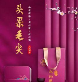 【新茶礼盒】2021年新茶双狮岭头采毛尖